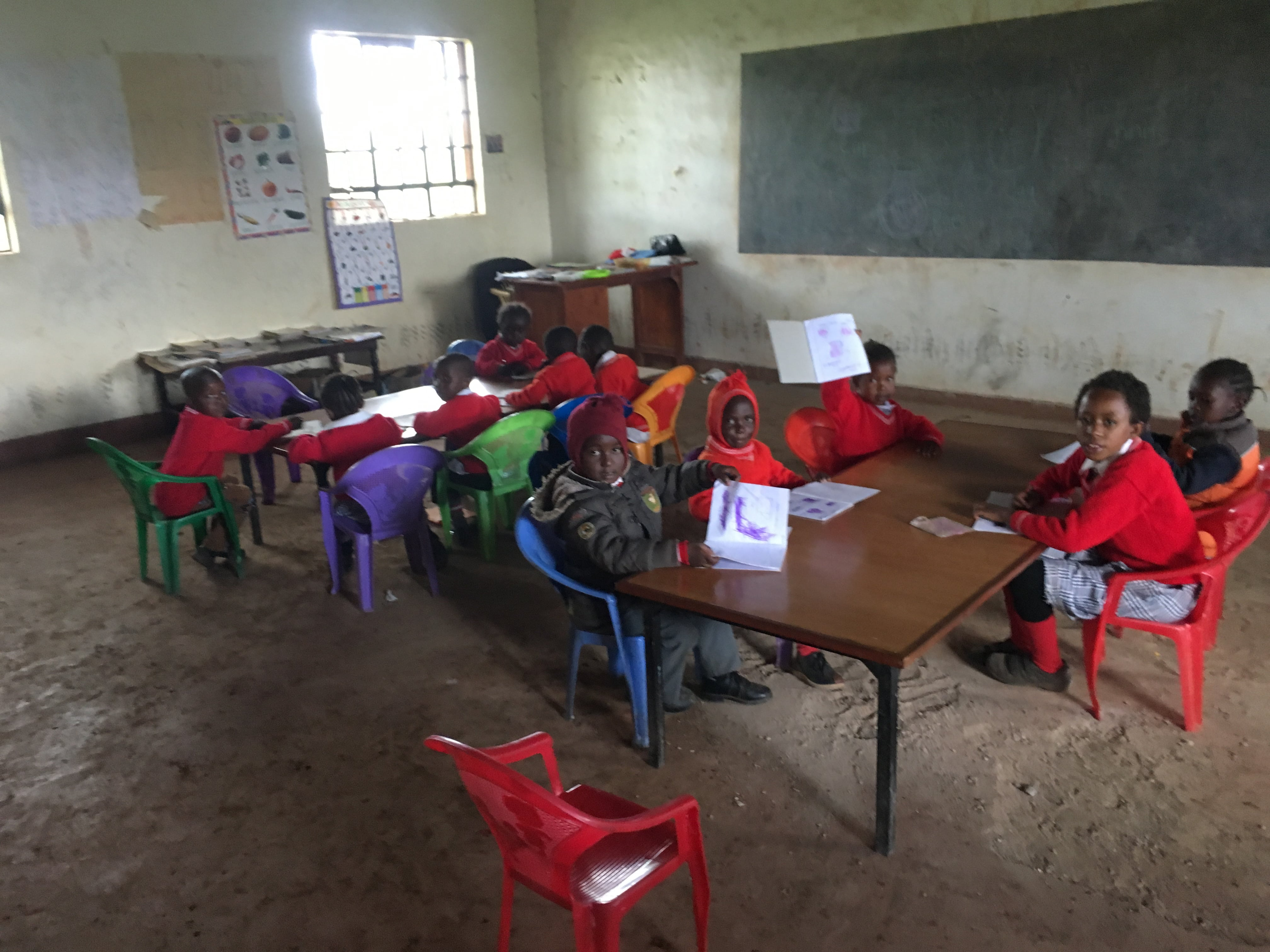 kenya student classroom