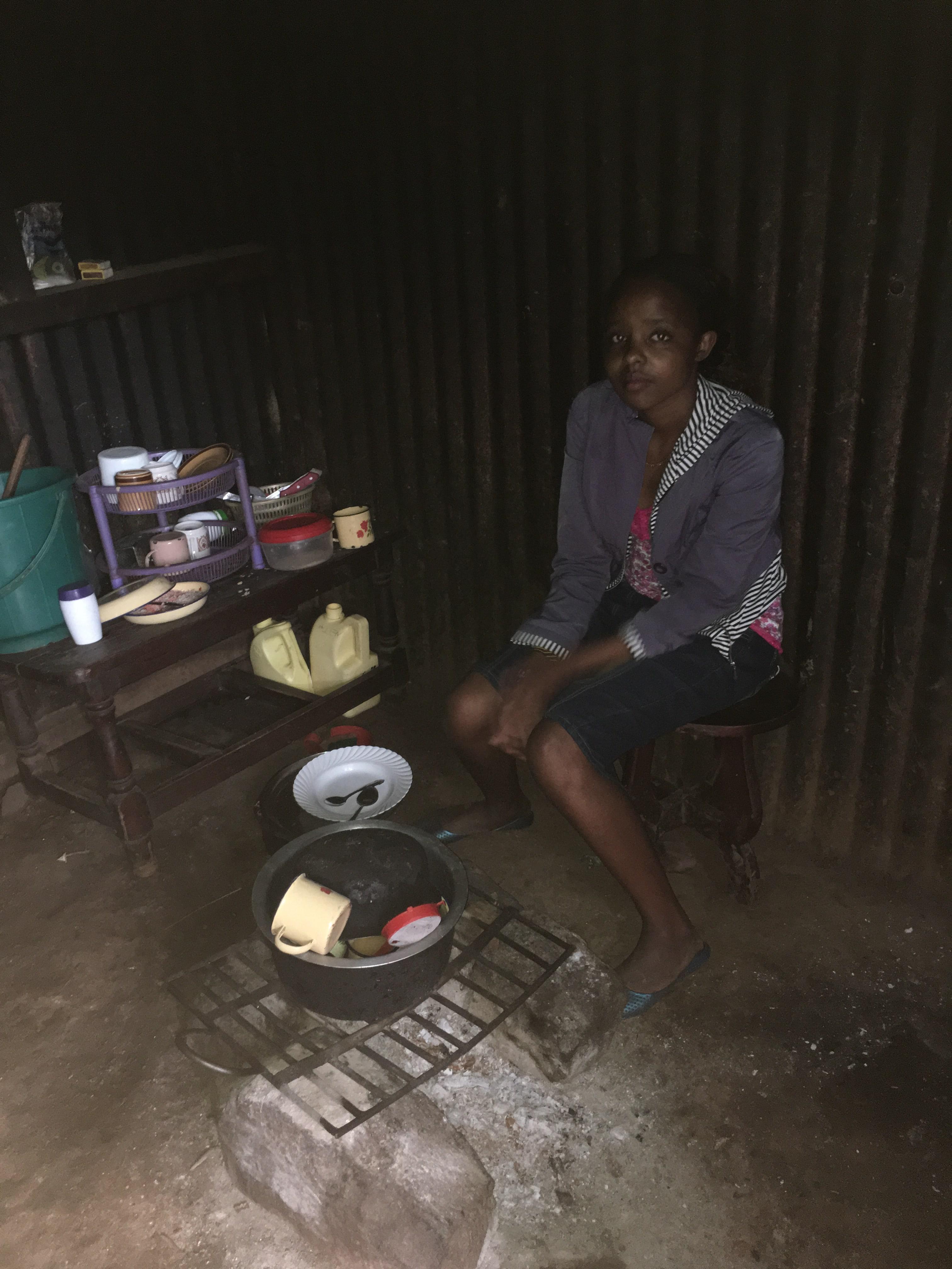 Maasai kitchen