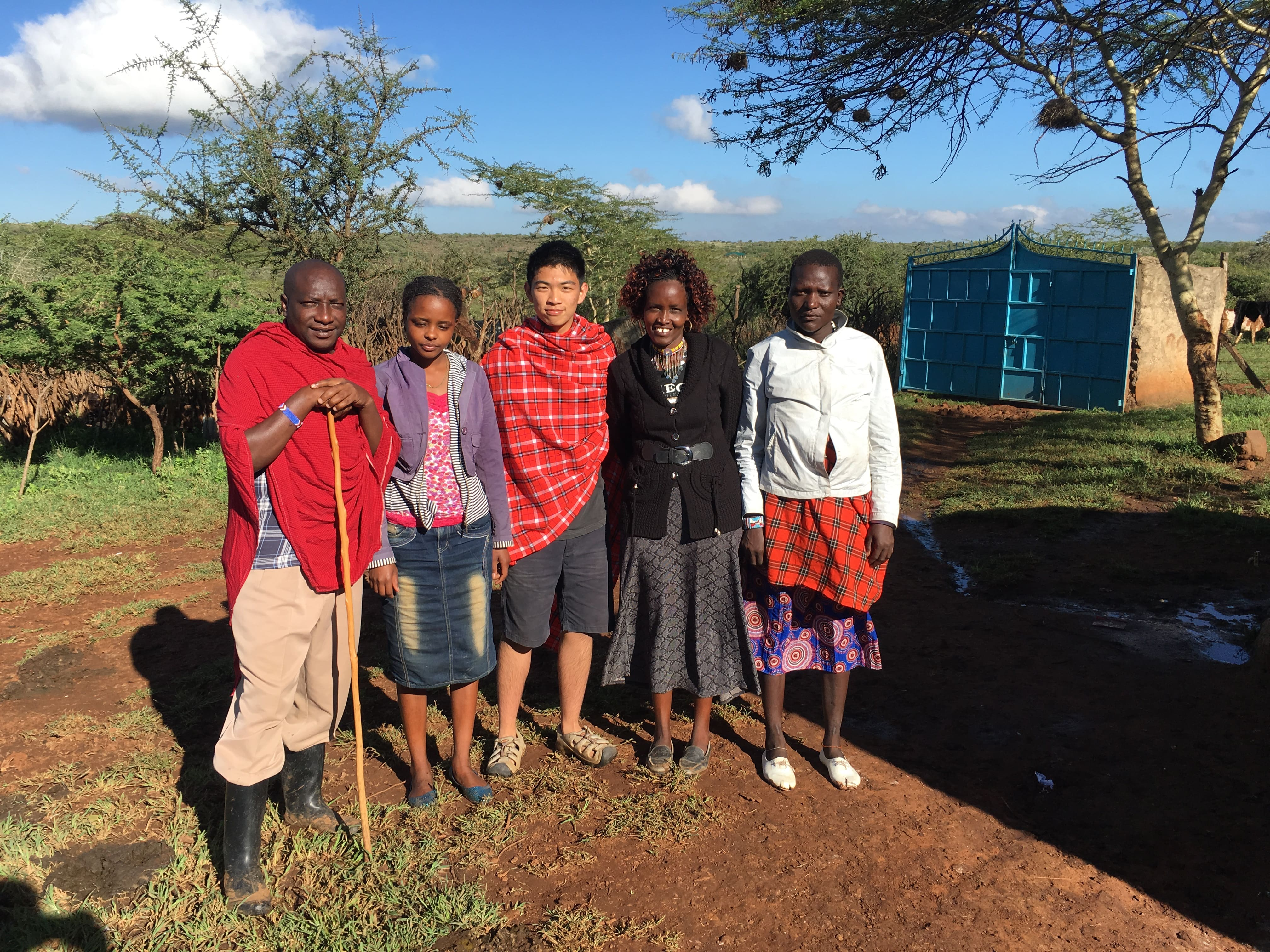 Living with Maasai