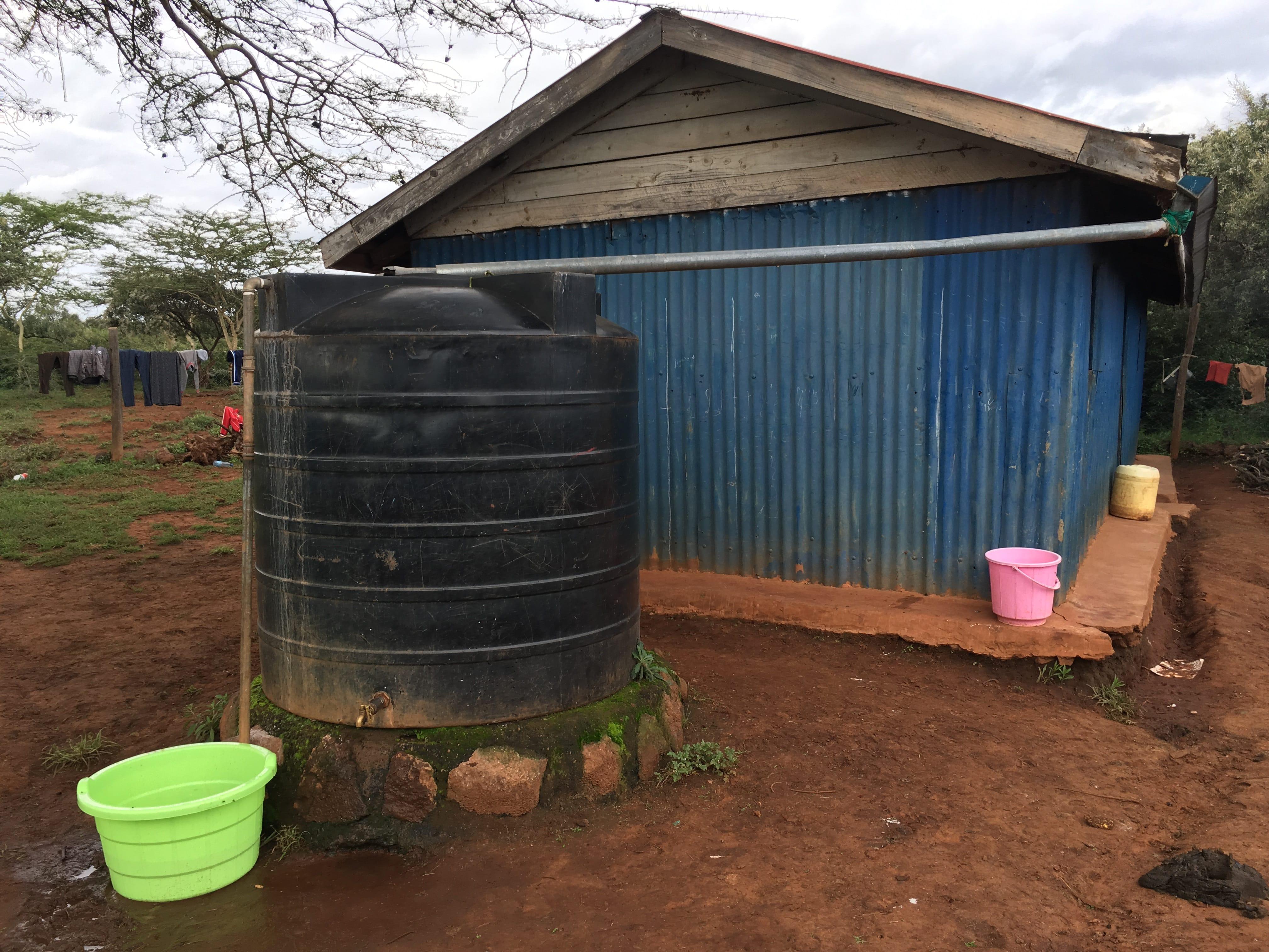 water tank maasai