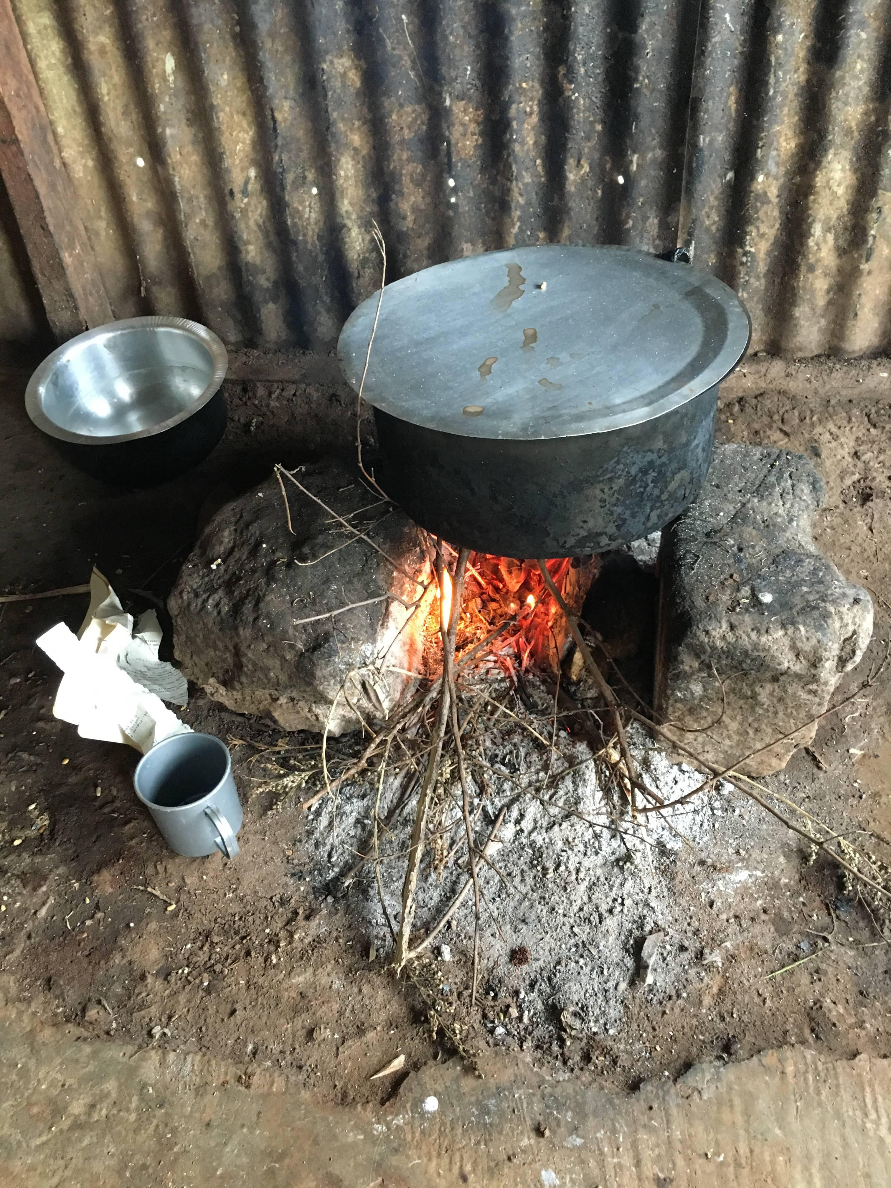 kenya maasai cooking stove