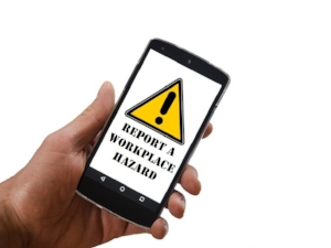 Report a Workplace Hazard Mobile Phone App