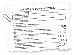 Ladder Inspection Checklist
