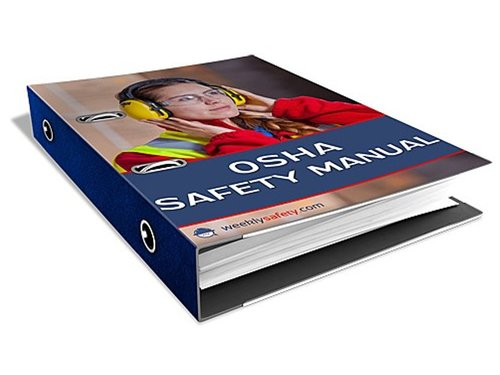 OSHA Safety Manual Binder