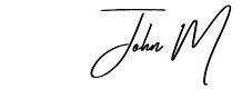 John M Signature