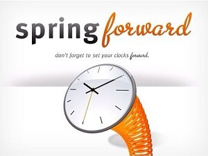 Spring Forward, Don't Forget to Reset Your Clocks