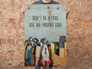 Large Safety Poster