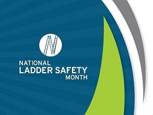 National Ladder Safety Month Logo