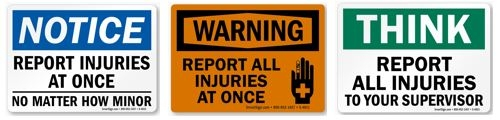 Workplace Safety Signs like these can be ordered from MySafetySign.com.