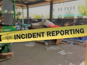 Incident Reporting, Caution Tape, Incident Scene