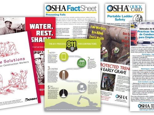 Examples of OSHA Resources