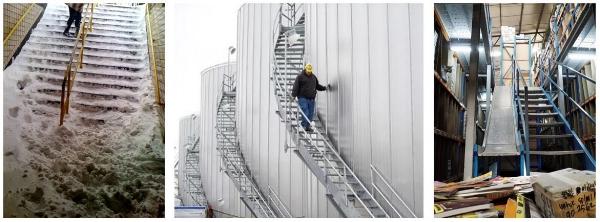 Hazards on Stairways