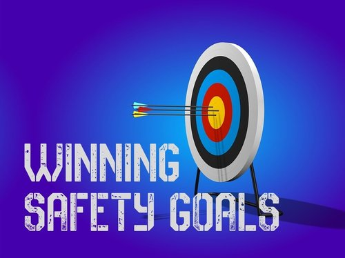 Bulls Eye Target, Winning Safety Goals