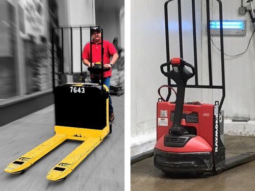 2 Examples of Pallet Jacks
