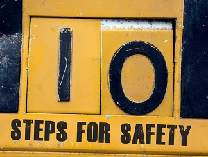 10 Steps for Safety