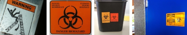 Examples of workplace warning safety tags