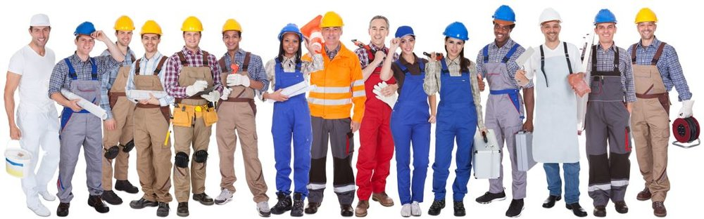 Several Different Kinds of Workers