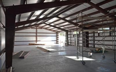 Temporary Scaffolding, Indoor Construction Area