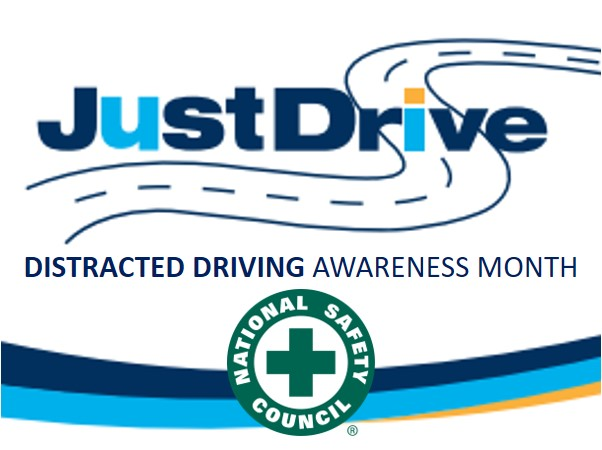 Distracted Driving Awareness Month Poster
