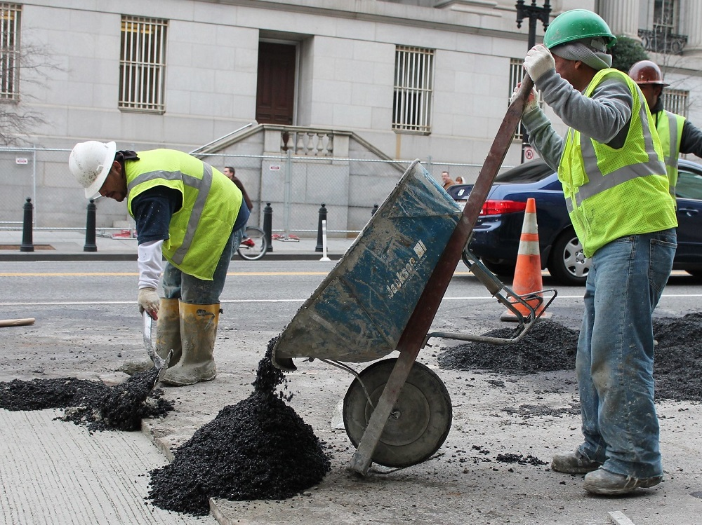 Road Construction Workers