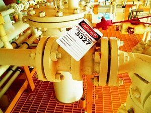 Lockout Tagout on Industrial Equipment