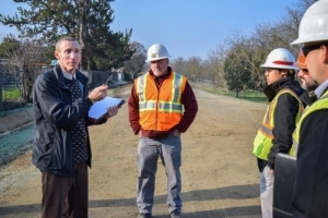 OSHA Officer Visits Site, Talks to Workers