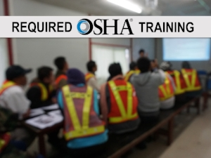 Required OSHA Trainng