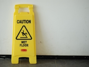 Caution, Wet Floor Sign