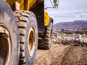 Big Tires on Heavy Equipment