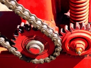 Large Exposed Gears That Could be Caught-in Hazard