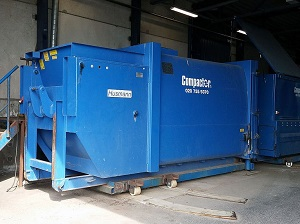 Industrial Trash Compactor
