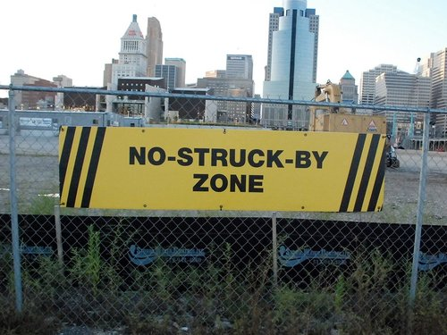 Big Sign, No Struck-by Zone