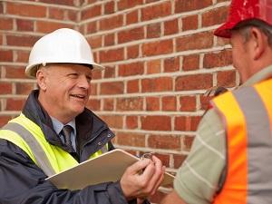 OSHA Inspector with Supervisor