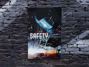Safety Poster for Welders