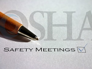 OSHA Safety Meetings