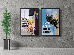 Lobby Safety Posters