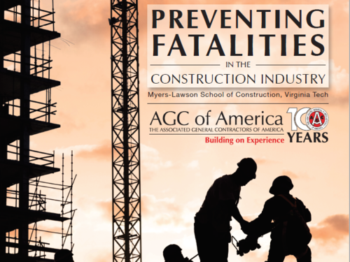 Preventing Fatalities in the Construction Industry