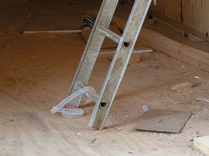 Defective Extension Ladder