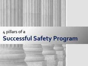 4 Pillars of a Successful Safety Program Cover Page