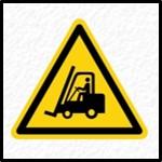 Moving Vehicles Warning Sign