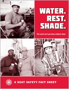 OSHA's Water, Rest, Shade Campaign