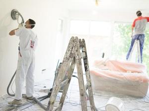 Painters Preparing Walls