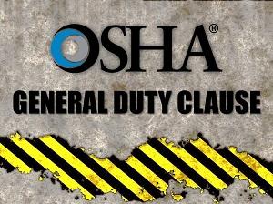 OSHA General Duty Clause