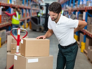 Warehouse Worker Experiences a Back Injury