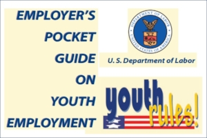 Employer's Pocket Guide on Youth Employment Brochure Image
