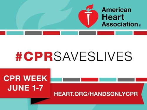 CPR Awareness Week Banner and Logo
