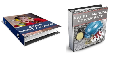 Safety Manual and Power Pack Printed into Binders