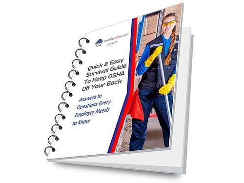 Spiral-bound Safety Survival Guide Book