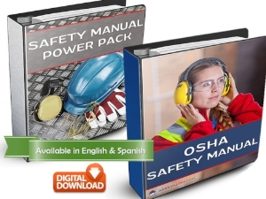 Safety Manual Examples in Binders