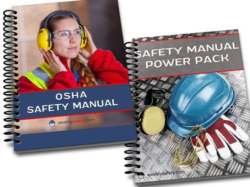 Two Versions of Printed Safety Manuals